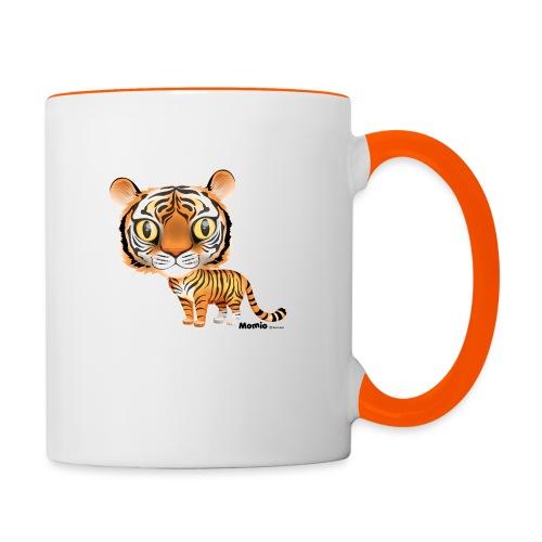 Tygrys - Kubek dwukolorowy