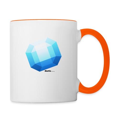 Saphir - Tasse zweifarbig