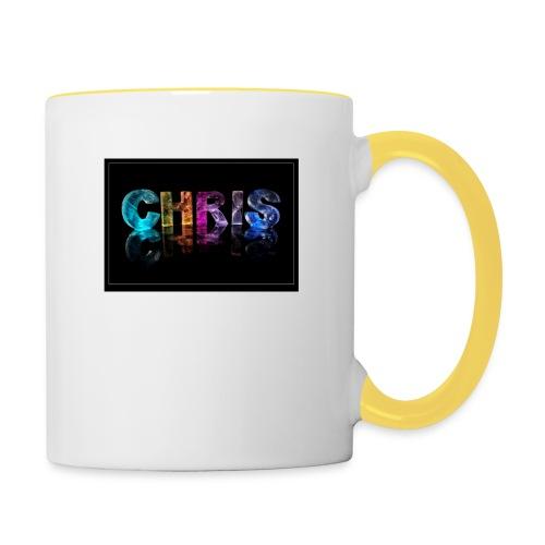 CHRIS - Tasse zweifarbig