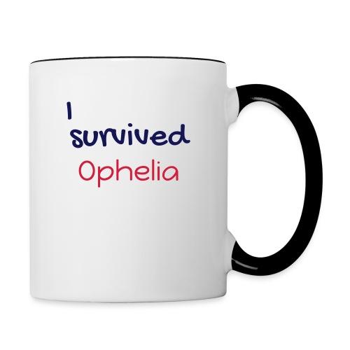 ISurvivedOphelia - Contrasting Mug