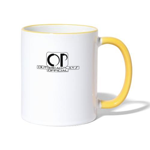 outbreakplays official OP logo - Contrasting Mug