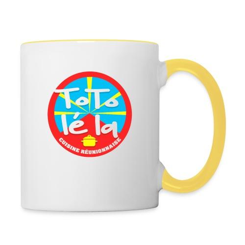 Collection Toto Lé La 974 - Mug contrasté