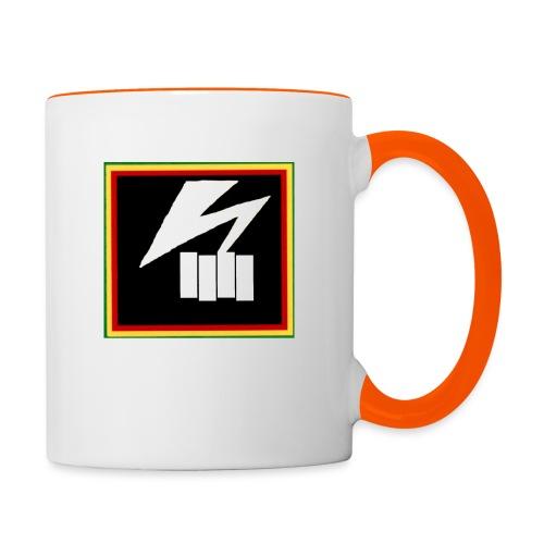 bad flag - Contrasting Mug