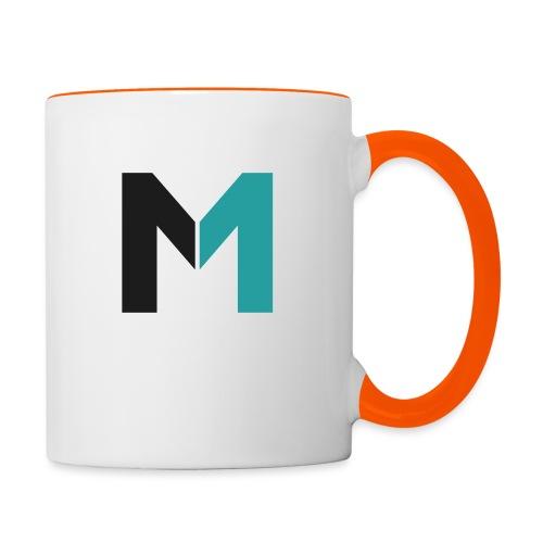 Logo M - Tasse zweifarbig
