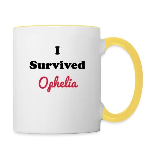 IsurvivedOpheliaWhitered - Contrasting Mug