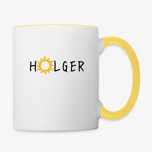 Holger Sommer edition kap - Tofarvet krus