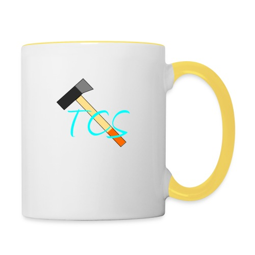 tcs drawn - Contrasting Mug