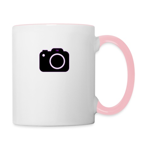 FM camera - Contrasting Mug