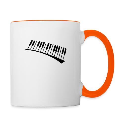 Piano - Taza en dos colores
