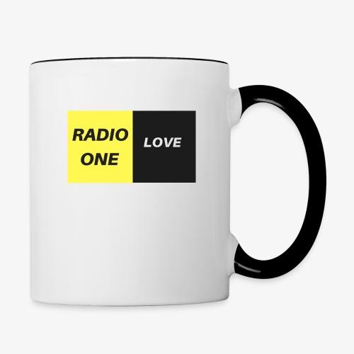 RADIO ONE LOVE - Mug contrasté