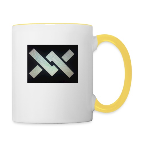 Original Movement Mens black t-shirt - Contrasting Mug