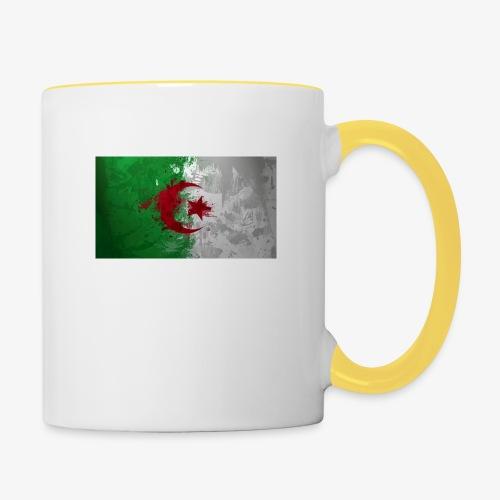 Drapeau Algérienne - Mug contrasté