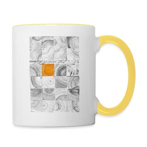 Cubes de Bois - Mug contrasté
