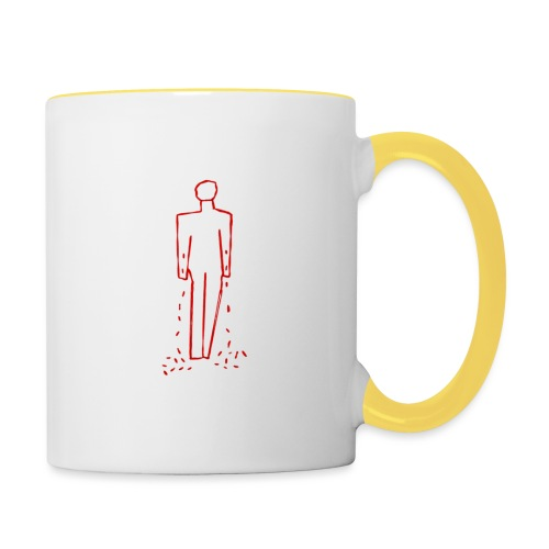 badge2 - Contrasting Mug