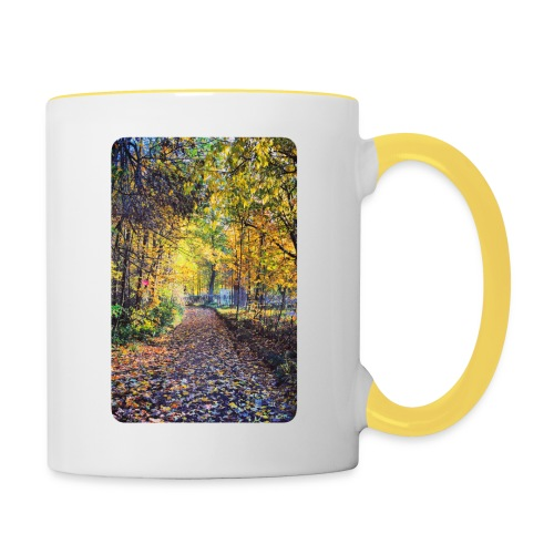 Autumn - Kubek dwukolorowy
