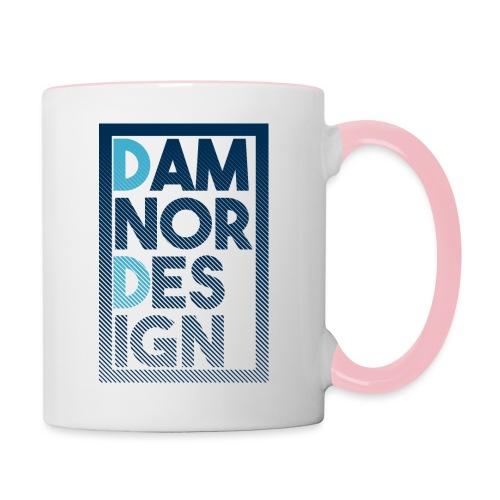 Damnor design (H) - Mug contrasté