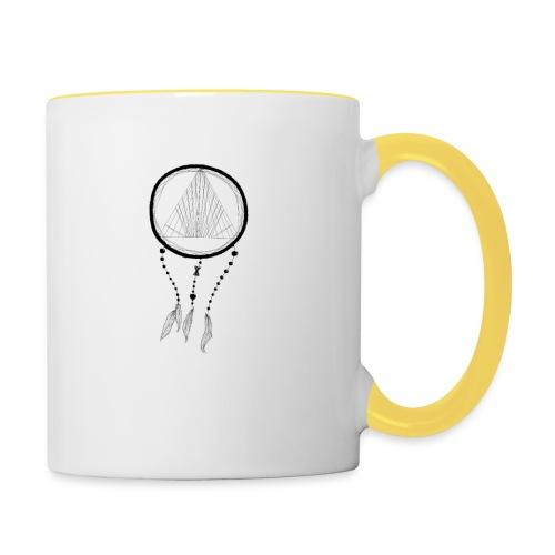 Traumfänger - Tasse zweifarbig