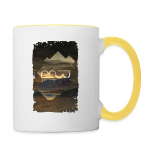 Men's shirt Album Art - Contrasting Mug