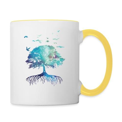 Unisex Hoodie Next Nature - Contrasting Mug