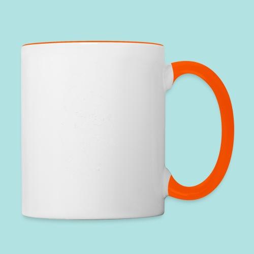 Old Guy, Eyes Open. - Contrasting Mug