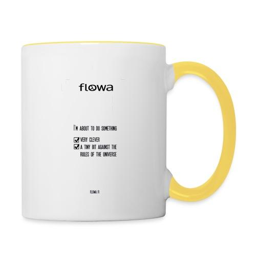 Flowa - Kaksivärinen muki