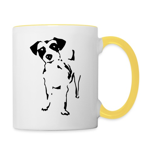 Jack Russell Terrier - Tasse zweifarbig