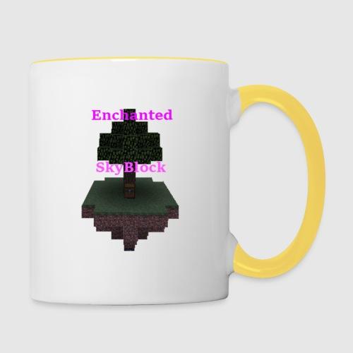 EnchantedSkyBlock - Contrasting Mug