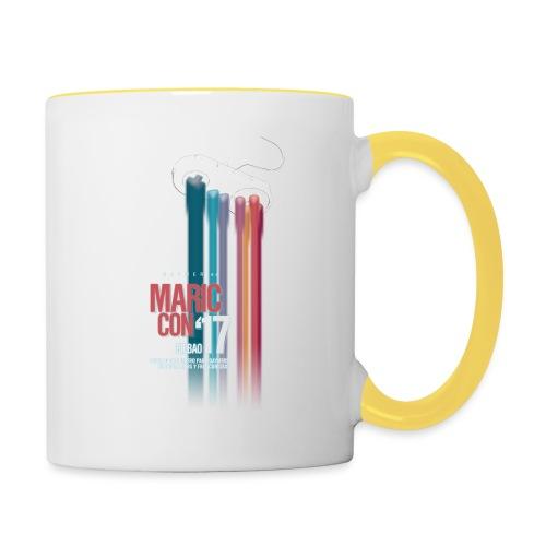 Logo MaricCon 2017 - Taza en dos colores