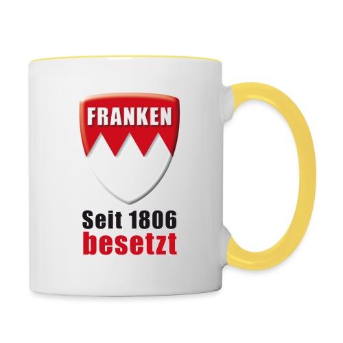 Franken - Seit 1806 besetzt! - Tasse zweifarbig
