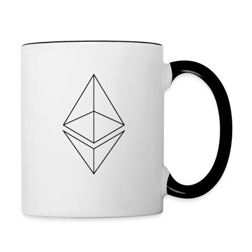 Ethereum - Kaksivärinen muki