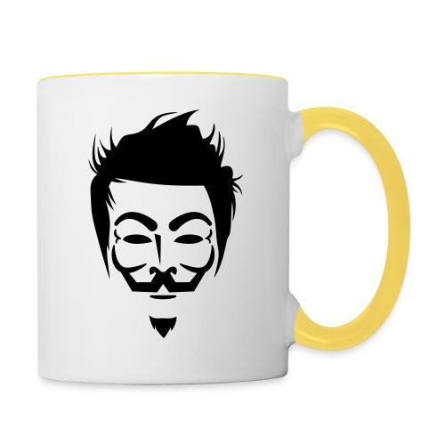 Anonymous Hipster - Mug contrasté