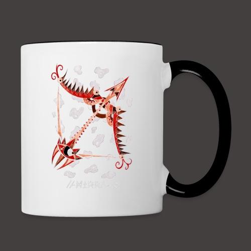 Sagittaire Négutif - Mug contrasté