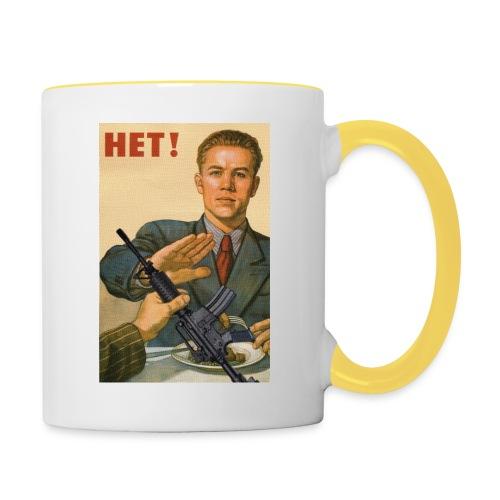 Njet M4 - Tasse zweifarbig