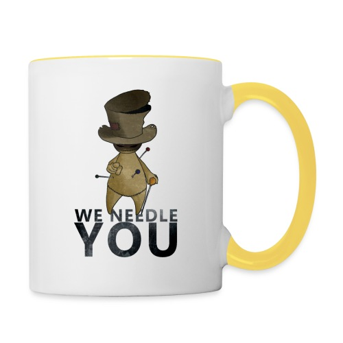WE NEEDLE YOU - Mug contrasté