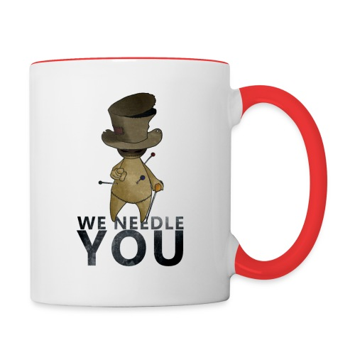 WE NEEDLE YOU - Mug contrasté