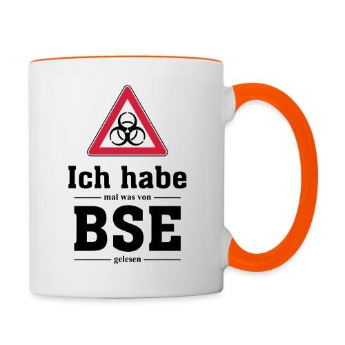 BSE - Tasse zweifarbig