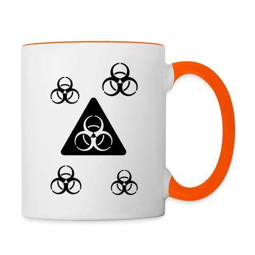 Virus invertiert Plural - Tasse zweifarbig