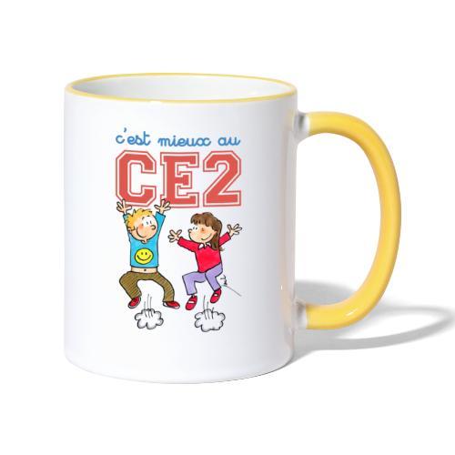 cest mieux au ce2 - Mug contrasté