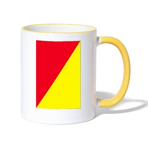 Anima giallo-rosso - Tazze bicolor