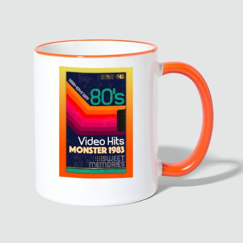 VHS Kassette - Tasse zweifarbig