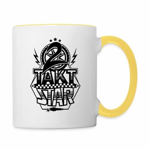 2-Takt-Star / Zweitakt-Star - Contrasting Mug