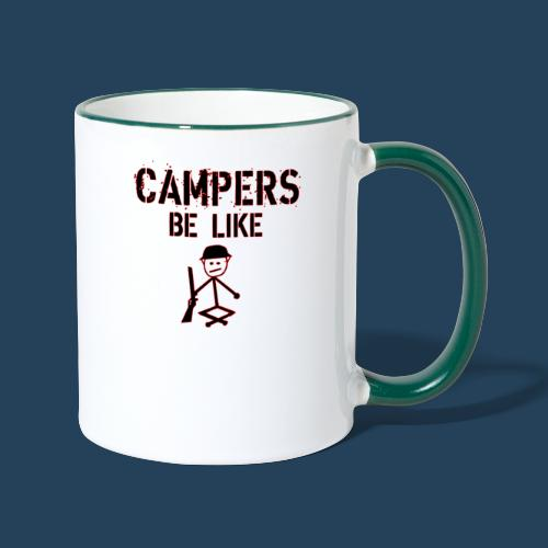 Camper Gaming - Tasse zweifarbig