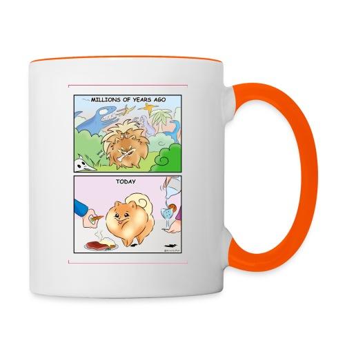 Pomeranian History - Tazze bicolor
