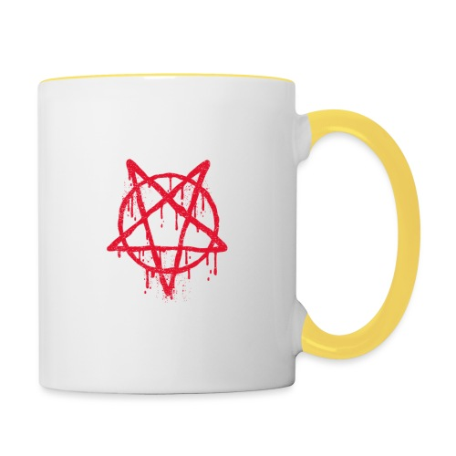 satan city 666 - Mug contrasté