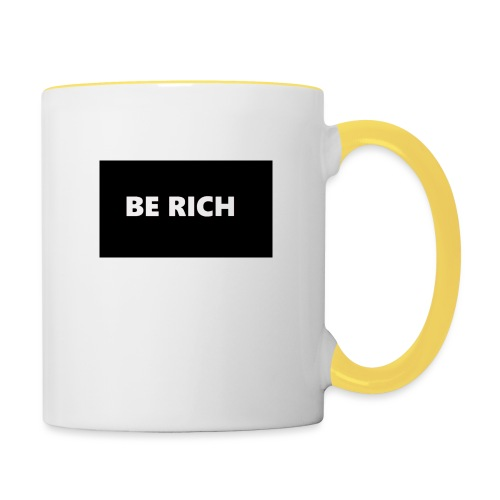BE RICH REFLEX - Mok tweekleurig