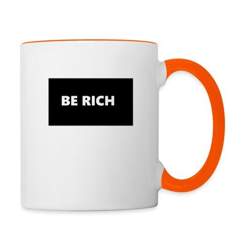 BE RICH REFLEX - Mok tweekleurig