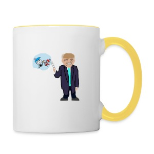 Drumpf and his Fairlies - Contrasting Mug