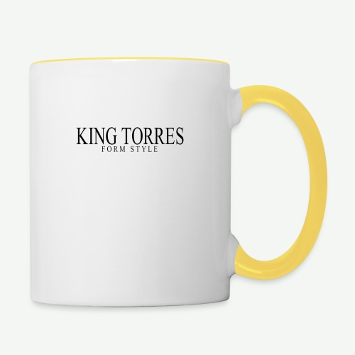 king torres - Taza en dos colores