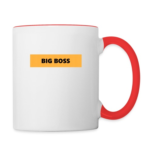 BIG BOSS - Kaksivärinen muki