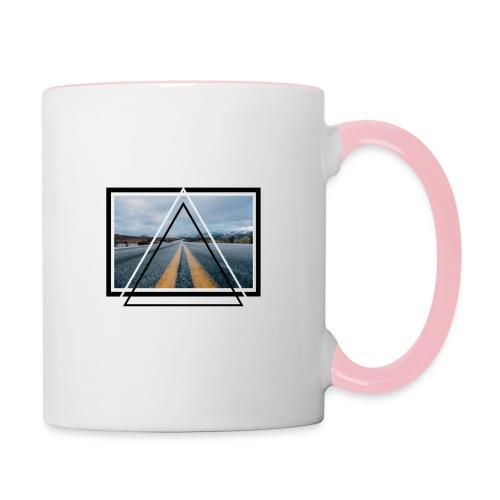 On the Road - Mug contrasté